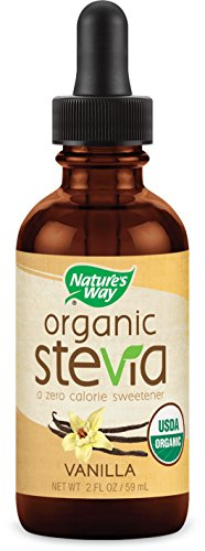 Price comparison product image Nature's Way Organic Stevia,  Vanilla,  2 Ounce
