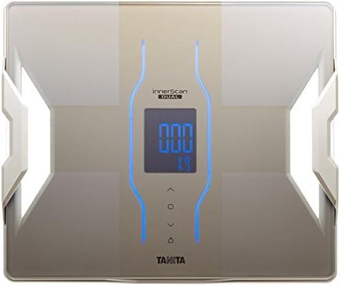 タニタ 体組成計 スマホ 50g 日本製 ゴールド RD-907 GD 医療分野の技術搭載/スマホでデータ管理 インナースキャンデュアル