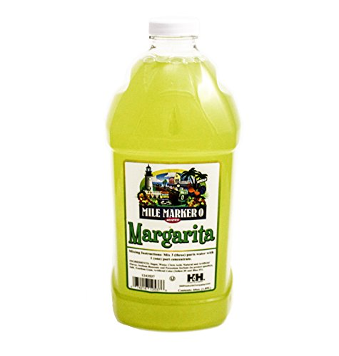 Margarita Mix - Mile Marker 0 - Commercial Grade Drink Mixer 64 Oz