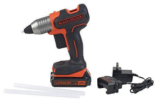 Black & Decker 20v Cordless Glue Gun System by Ad-Tech