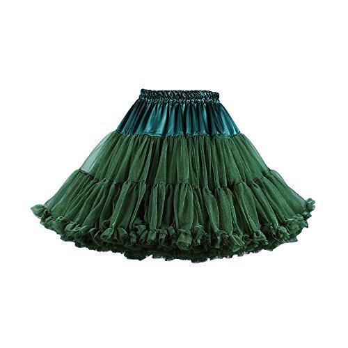 rtro Jupe en femmes lastique soire tulle taille tour de de couleurs7 cosplay jupon courte xxqdAw8Yr