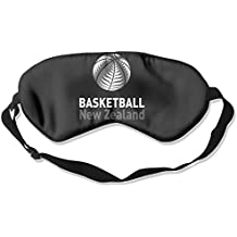 fan products of Sleep Mask Basketball New Zealand Eye Cover Blackout Eye Masks,Soothing Puffy Eyes,Dark Circles,Stress,Breathable Blindfold For Women Men