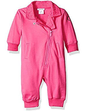 Baby Girls' Girl Coverall