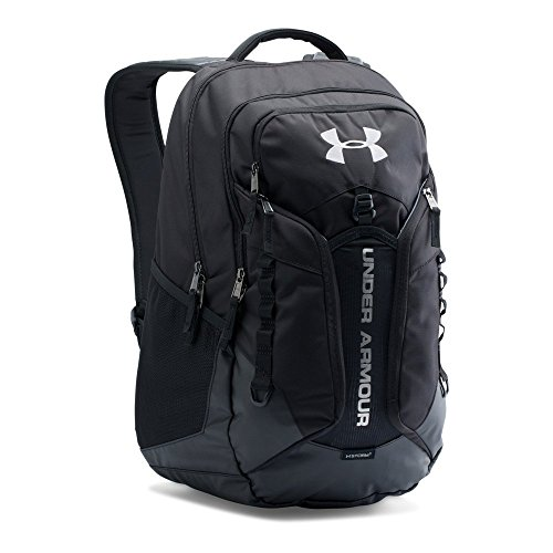 Under Armour Storm Contender Backpack, Black/Steel, One Size