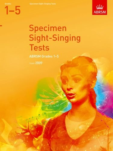 Specimen Sight-singing Tests