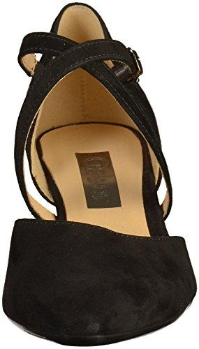 modernes croisées Callow à Gabor escarpins pour femmes noir bretelles PWEqW1Zxn