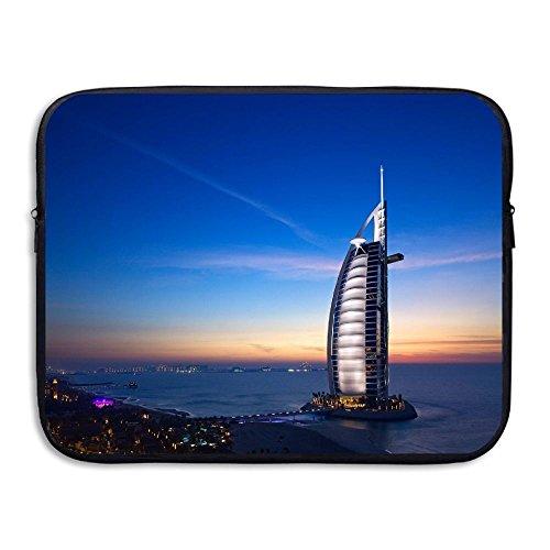 Futuristic Hotels Laptop Sleeve Egiant Waterproof Protective Fabric Notebook Bag Case 13 - Terms Futuristic