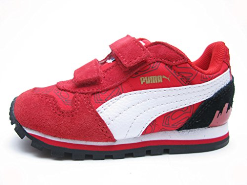 Puma Infant Shoes St Runner Superman Hero Red Fashion (5) (Red Shoes All Puma)