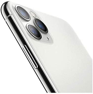 Apple iPhone 11 Pro Max, 64GB, Unlocked - Silver (Renewed)