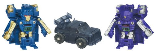 Transformers Bot Shots Battle Game, Series 1, 3-Pack (Ironhide, Shockwave, Decepticon Brawl)
