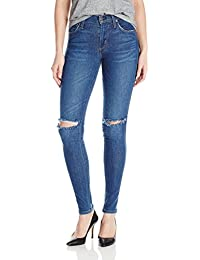 James Jeans Women's Twiggy Mid-Rise Legging Jean with...