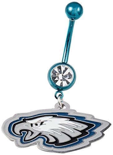NFL Philadelphia Eagles Navel Ring 14 Gauge