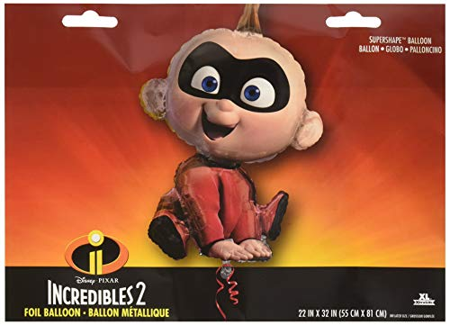 (Anagram International, Inc. 94566 Incredibles 2 Jack Party Balloon 32