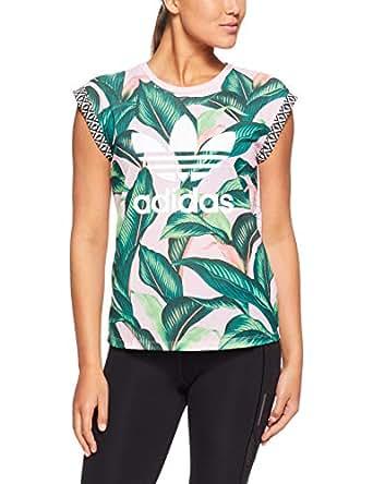adidas Women's DH3052 Tee T-Shirt, Multicolor, 32