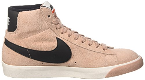 gum Black Mid Medium Blazer Brown Hautes Pink Particle NIKE Vintage Femme Suede Baskets Rose ivory 7Swqxvf