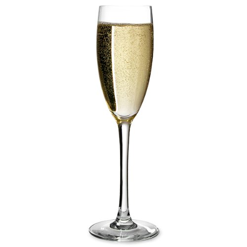 Cabernet Champagne Flutes 5.6oz Lined and CE stamped at 125ml - Case of 24 Arc International