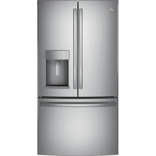 GE GFD28GSLSS 36 Inch French Door Refrigerator with 27.8 cu.