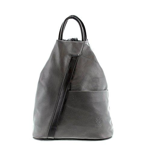 IO.IO.MIO Borsetta per le Icone® - Bolso mochila Mujer grau/schwarz