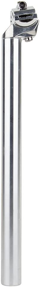 Sunlite Bicycle Classic Alloy Seatpost 26.2mm x 350mm Silver 25mm Setback