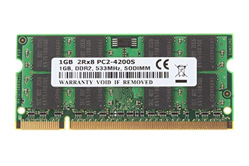 FidgetGear 1GB 1 GB Kits SDRAM PC2-4200S DDR2-533 533Mhz 200pin CL4 Laptop Memory RAM @1H