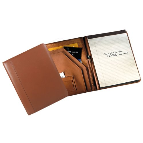 Andrew Philips Deluxe Writing Pad Holder Tan by Andrew Philips Collection