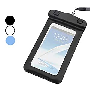 Mini - Waterproof Plastic Bag Without Armband for iPhone 4/4S0 , Color: Black