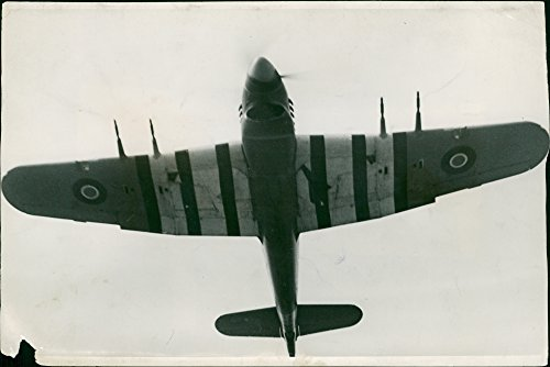 Vintage photo of The fastest single engine fighter in the world