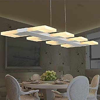 ceiling lights living room dining room led pendant lights acrylic - Living Room Led Ceiling Lights