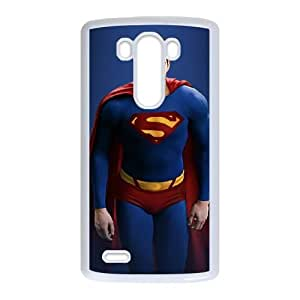 Superman LG G3 Cell Phone Case White MSU7161059