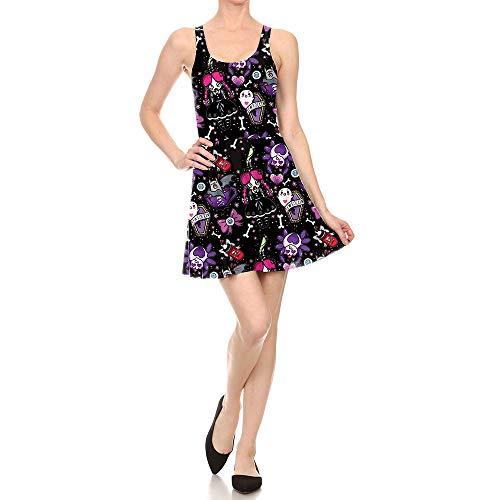 Mujer Mujer De De para 3D Calabaza De Araña De Vestido Araña Mujervestido Vestido Halloween MAIMOMO 48T7x7