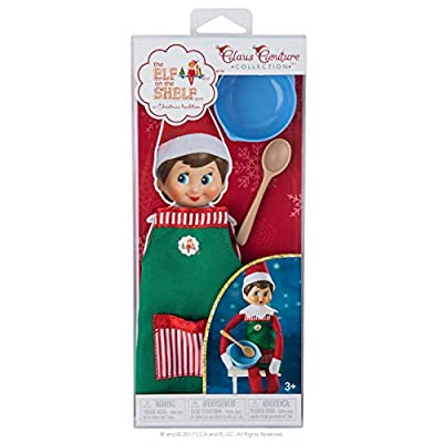 Elf on The Shelf Claus Couture Sweet Shop Set Novelty, Green/ Red: Toys & Games