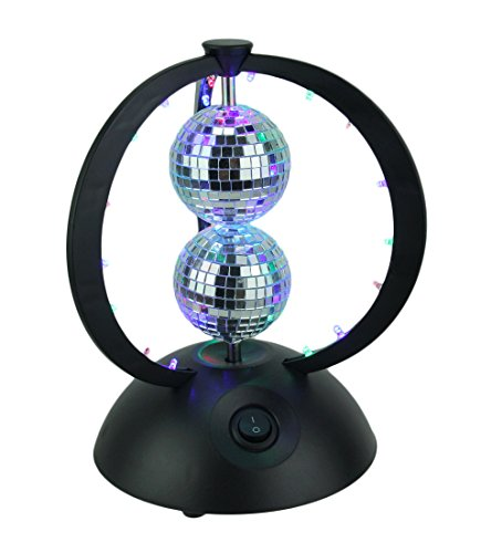 Plastic Lumisource Table (LumiSource LS-DISCOPLANET Planet Table Disco-Style LED Lighting Fixture)