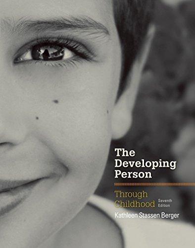 Developing Person Through Childhood by Kathleen Stassen Berger (2015-03-15)