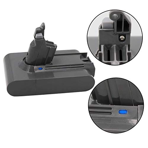 Dyson Battery Dyson Battery Compatible Dyson V6 595 650 770 880 DC58 DC61 Handheld Vacuum (with Free Dyson Filter)