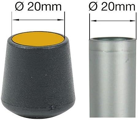 18 mm Wei/ß Lifeswonderful/® Gew/ölbte Schutzkappen f/ür M/öbel viele verschiedene Farben und Gr/ö/ßen 16 St/ück