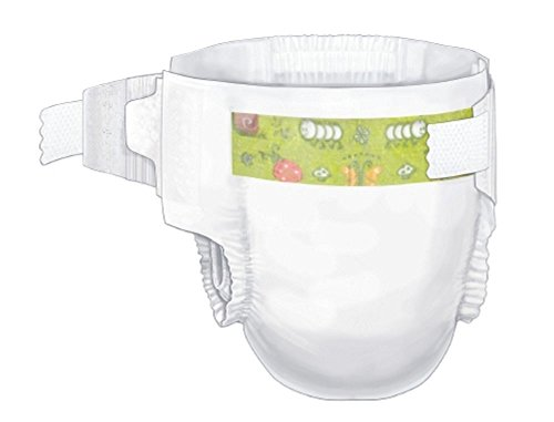Baby Diaper Curity Tab Closure Size 3 Disposable Heavy Absorbency 80028A