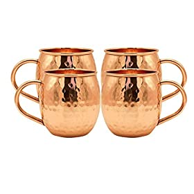 Kitchen Science Moscow Mule Hammered Copper 18 Oun...