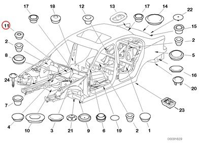 bmw 740il parts diagram