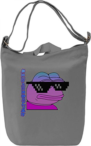 Sadfrog Borsa Giornaliera Canvas Canvas Day Bag| 100% Premium Cotton Canvas| DTG Printing|