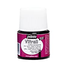 Pebeo Vitrail Glass Paint 45ml Old Pink