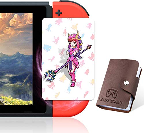 NFC Tag Game Cards for The Legend of Zelda Breath of The Wild Switch/Wii U- 23pcs Cards with Holder