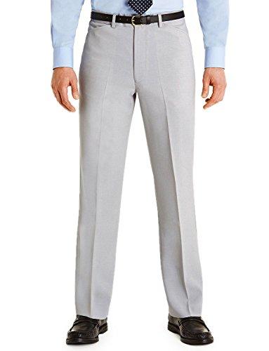 Hommes Farah Podarge Poche Formelle Pantalon Smart Gris 81cm x 69cm
