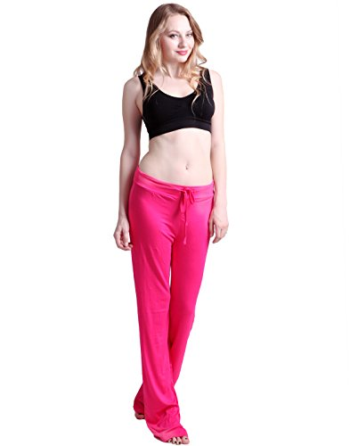 HDE Womens Stretchy Drawstring Bottoms