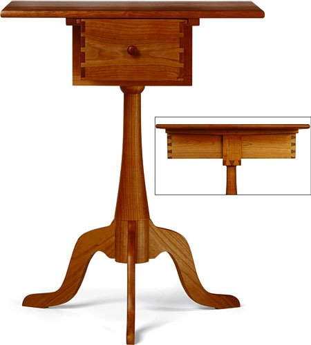 Hancock Shaker Sewing Stand