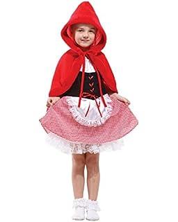 Amscan - 999 709 - Caperucita Roja Disfraz - 6-8 Años: Amazon.es ...