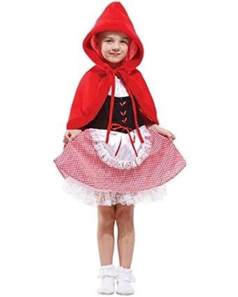 Fur Immer Junge Kinder Madchen Rotkappchen Halloween Kostum 8 10