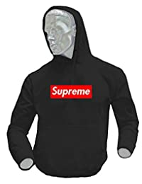 DhoomBros Youth Kids Supreme Box Logo Pullover Sweatshirt Hoodie