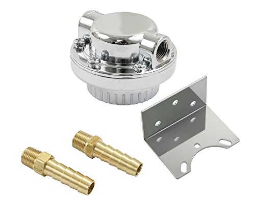 - EMPI 9092 FUEL PRESSURE REGULATOR WITH BRACKET AND 2) 5/16