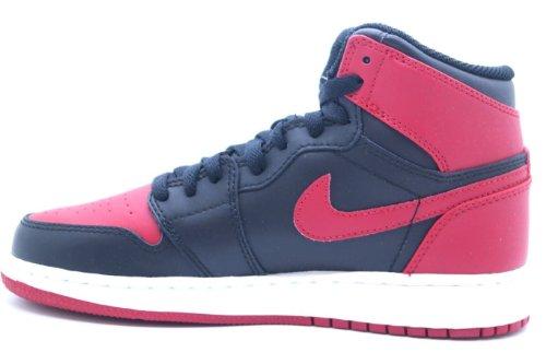 Nike - Zapatillas de deporte para hombre rojo rojo Black/Varsity Red-White