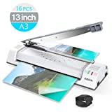 Best 3M Laminators - ABOX 13'' Thermal Laminator Machine for A3/A4/A6,Two Roller Review